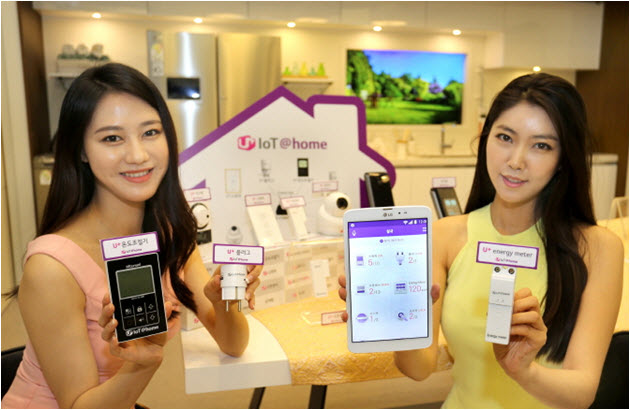 LG U Vice President Sang Chul Lee Upluscokr Showcased 6 New Home IoT Services Out Of 10 To Be Released In The Second Half Year
